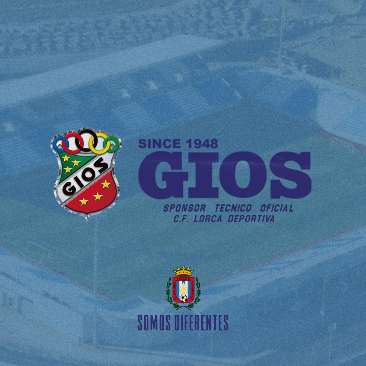 GIOS Teamwear, nuevo sponsor técnico oficial del club