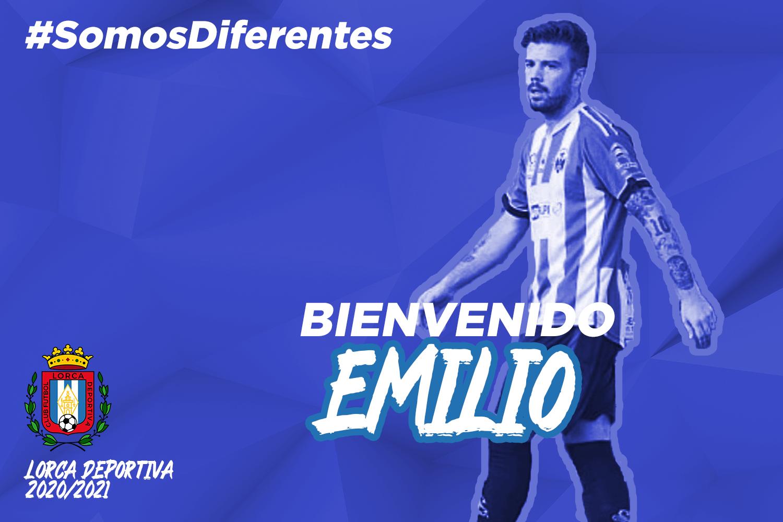 Emilio, nuevo jugador del Lorca Deportiva