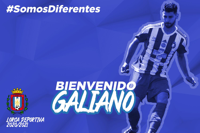 Galiano vuelve al Lorca Deportiva