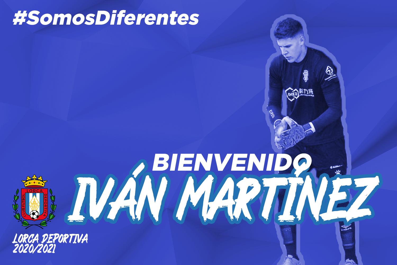 Iván Martínez, nuevo portero del Lorca Deportiva
