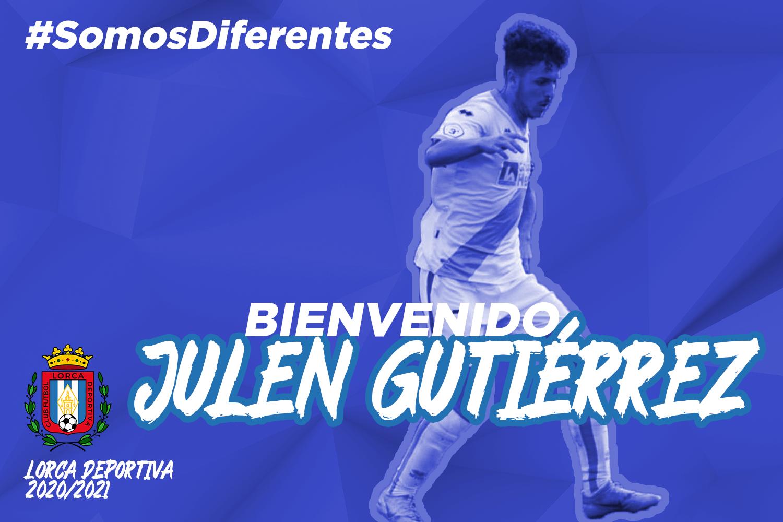Julen Gutiérrez, nuevo jugador del Lorca Deportiva