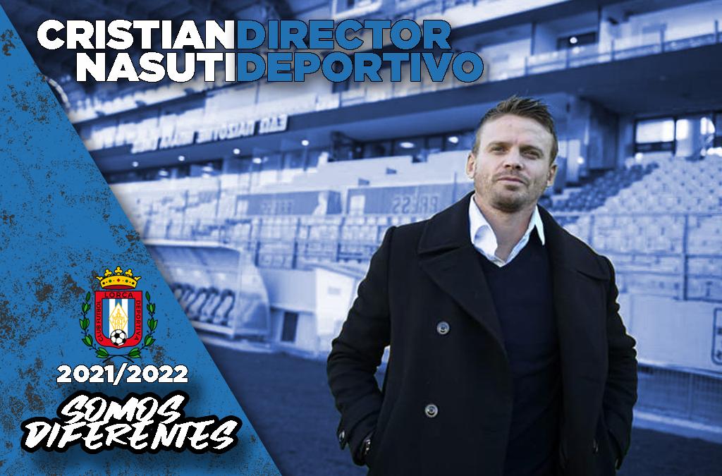 Cristian Nasuti, nuevo Director Deportivo del Lorca Deportiva