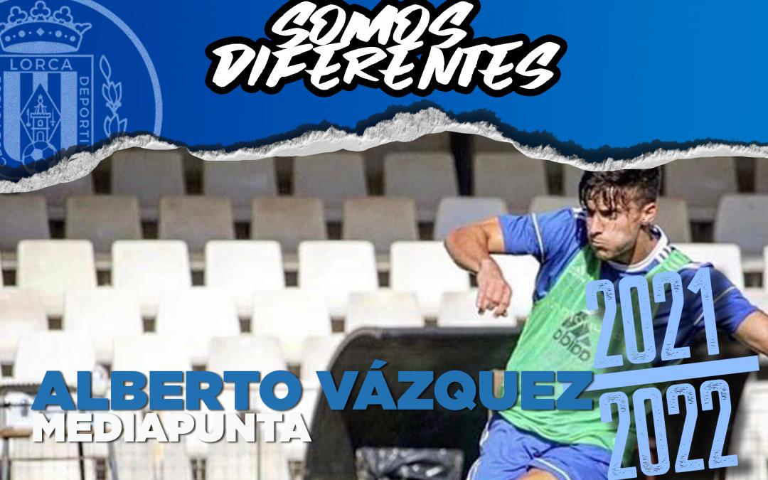 Alberto Vázquez, nuevo jugador del Lorca Deportiva