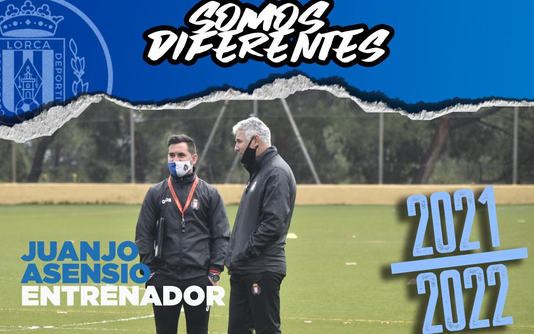 Juanjo Asensio seguirá en el banquillo del Lorca Deportiva