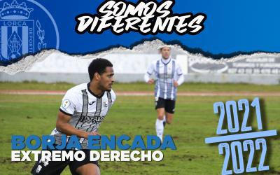 BORJA ENCADA, nuevo jugador del Lorca Deportiva