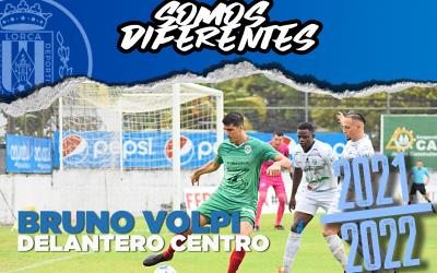 BRUNO VOLPI, nuevo jugador del Lorca Deportiva