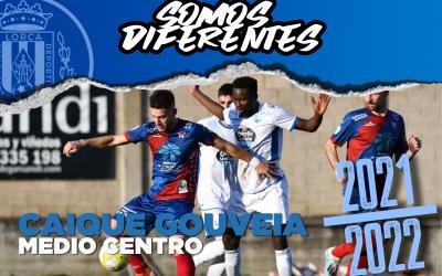 Caique Gouveia, nuevo jugador del Lorca Deportiva
