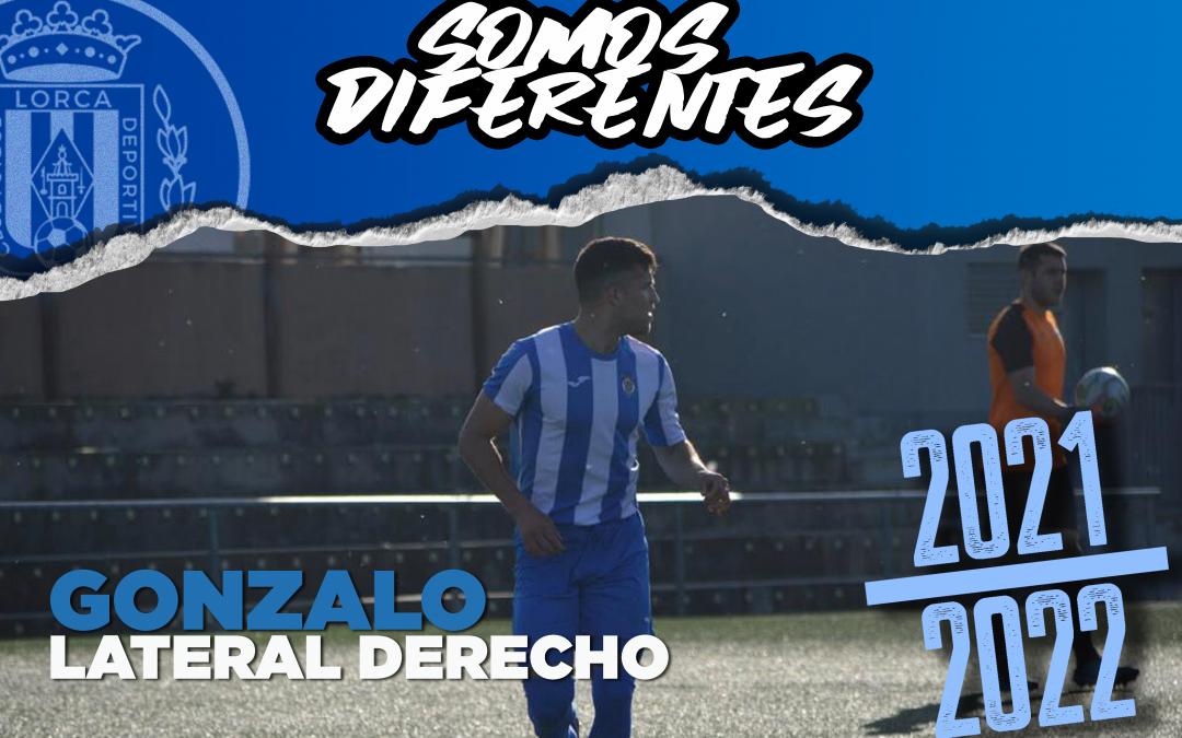 Gonzalo, nuevo jugador del Lorca Deportiva