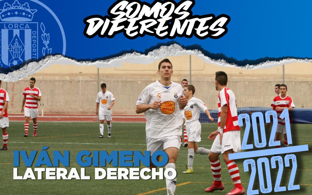 Iván Gimeno, nuevo jugador del Lorca Deportiva