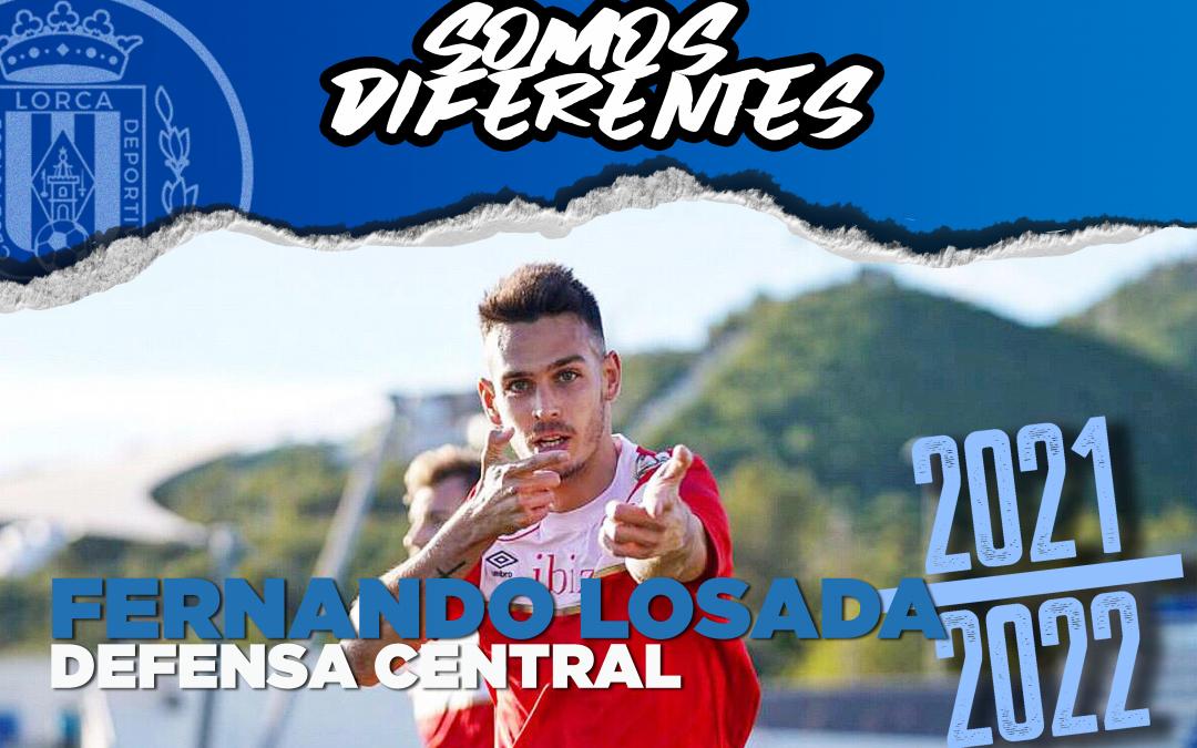 Fernando Losada, nuevo jugador del Lorca Deportiva