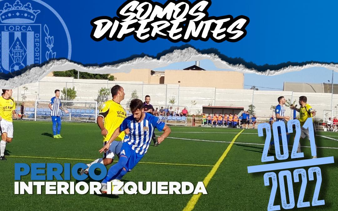 Perico, nuevo jugador del Lorca Deportiva
