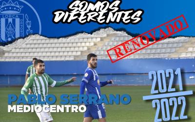 Pablo Serrano renueva una temporada más con el Lorca Deportiva