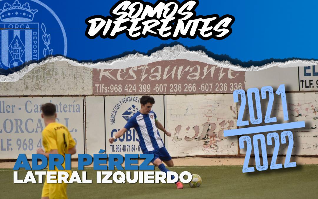 Adri Pérez, nuevo jugador del Lorca Deportiva