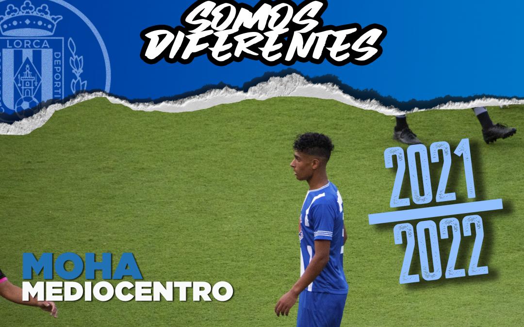 Moha, nuevo jugador del Lorca Deportiva