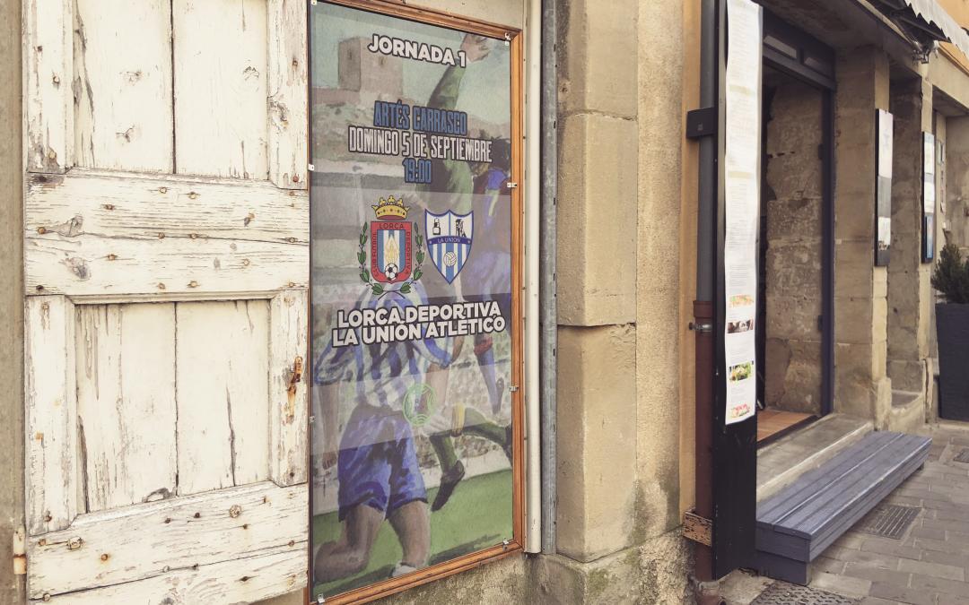 Más de 30 comercios de Lorca colaboran con el club en la promoción 2×1 para el partido ante La Unión