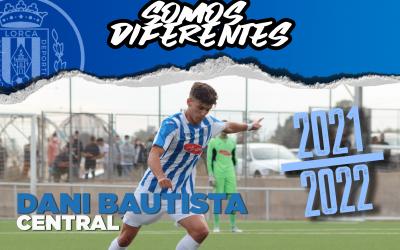 Dani Bautista, nuevo jugador del Lorca Deportiva