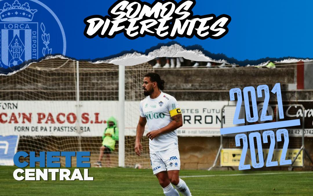 Chete, nuevo jugador del Lorca Deportiva